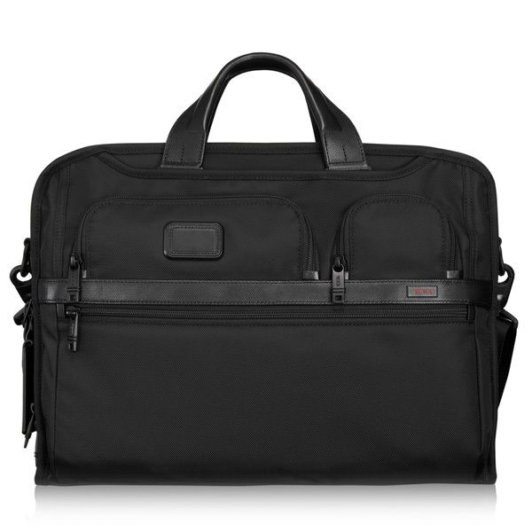 Tumi ALPHA 2 Kompakte Laptop-Aktentasche Bild