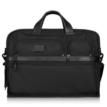 Tumi ALPHA 2 Kompakte Laptop-Aktentasche