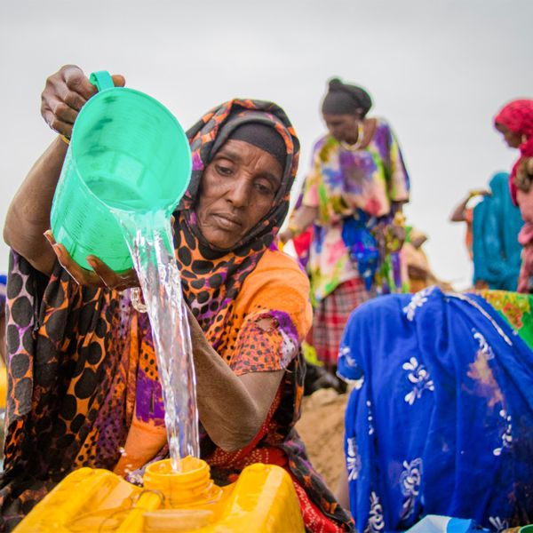 Glückskette – Klimakatastrophe Afrika Bild