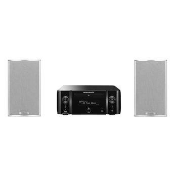 Marantz M-CR611 Musiksystem mit Piega TMicro 4 Lautsprecher