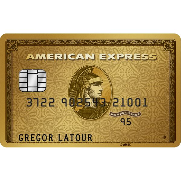 American Express Gold Card (Main Card) Image