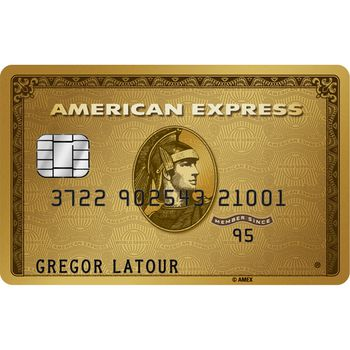 American Express Gold Card (Additional Card)