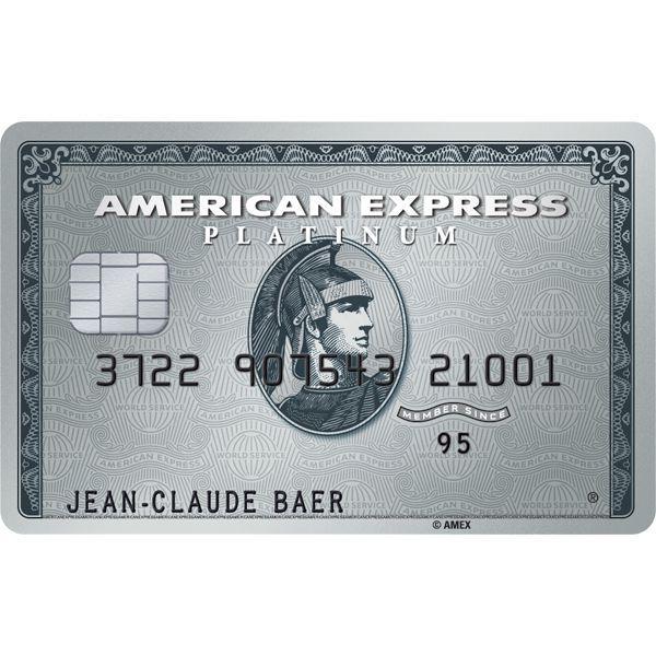 American Express Platinum Card Bild