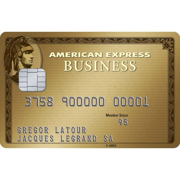 American Express Gold Business Card (Hauptkarte) Bild