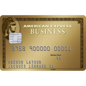American Express Gold Business Card (Hauptkarte)