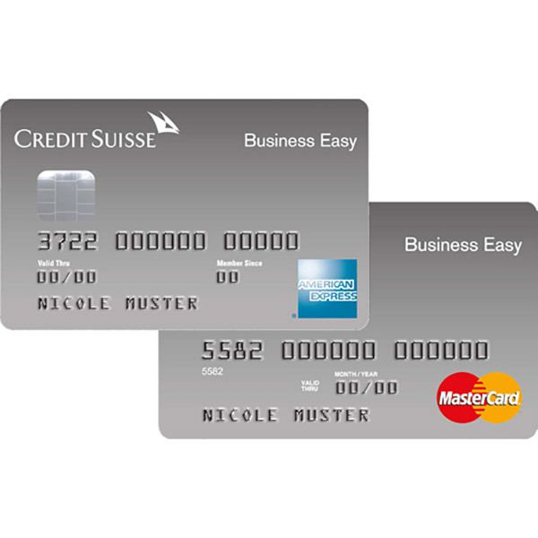 Business Easy Silver American Express Bild