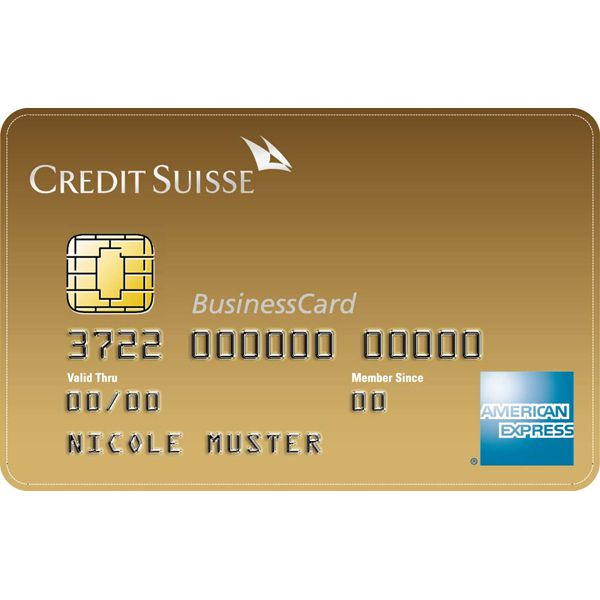 CS Gold American Express Business Bild