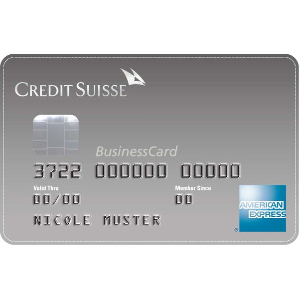 CS Silver American Express Business Bild