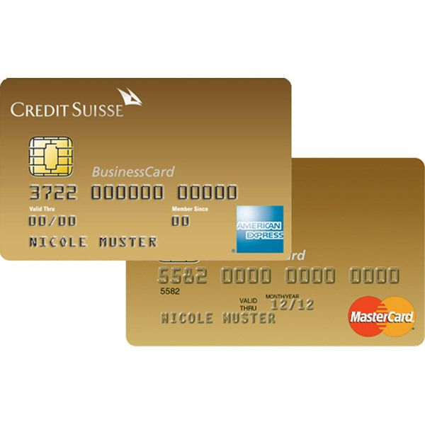 CS Duo Gold American Express Business Bild