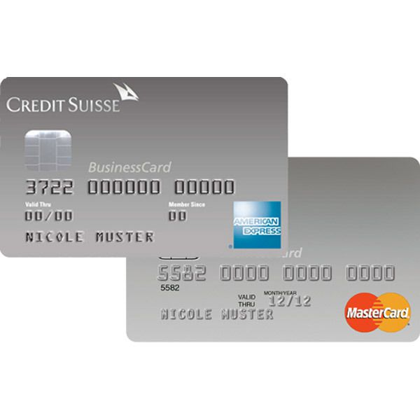 CS Duo Silver American Express Business Image