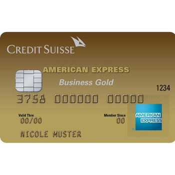 CS Gold Business American Express