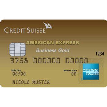 CS Gold Business American Express