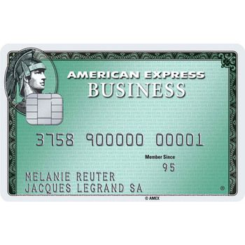 American Express Business Card (Hauptkarte)