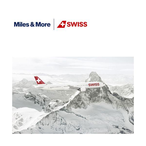 SWISS – Miles & More Bild