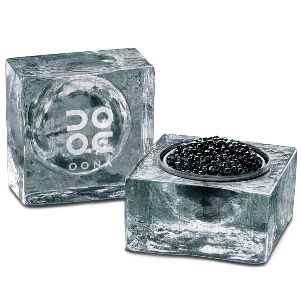 Oona Caviar N°103 Traditionnel 50g with Ice Cube Image