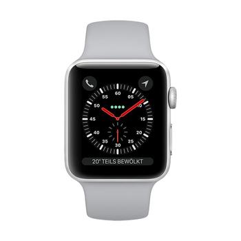 Apple Watch GPS+Cellular in Aluminium 42mm - Sportarmband