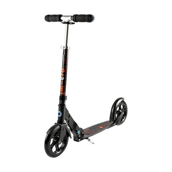 Micro BLACK Scooter Bild