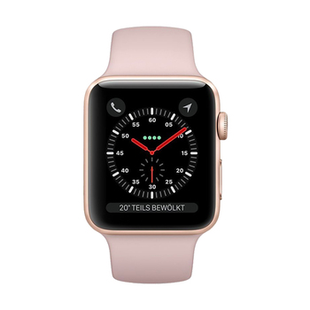 Apple Watch GPS in Aluminium 42mm - Sportarmband