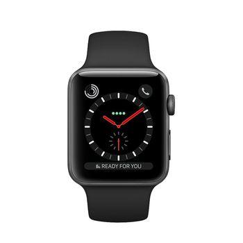 Apple Watch GPS+Cellular in Edelstahl 38mm - Sportarmband