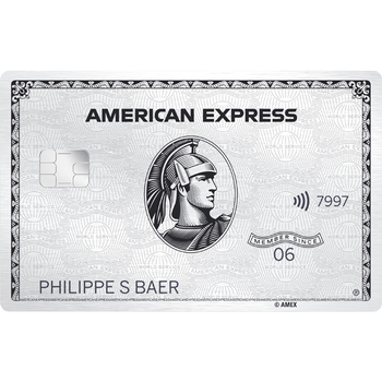 American Express Platinum Card (50%)