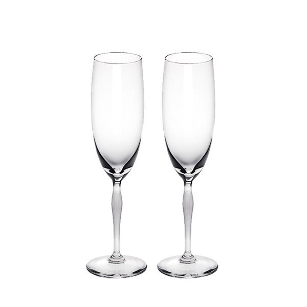 Lalique 100 POINTS Champagne Flute Set 2pcs Image