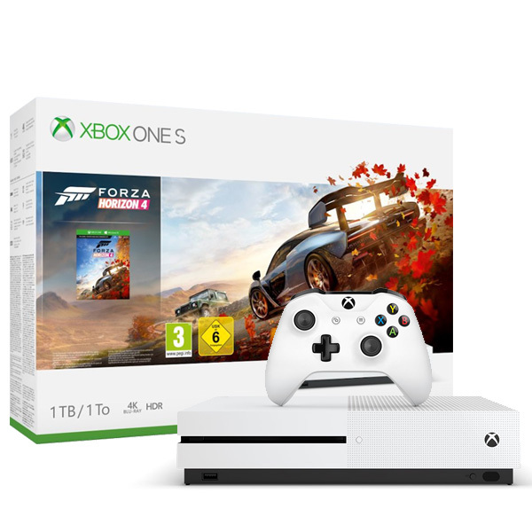 Xbox One S Forza Horizon 4 Bundle (1TB) Image