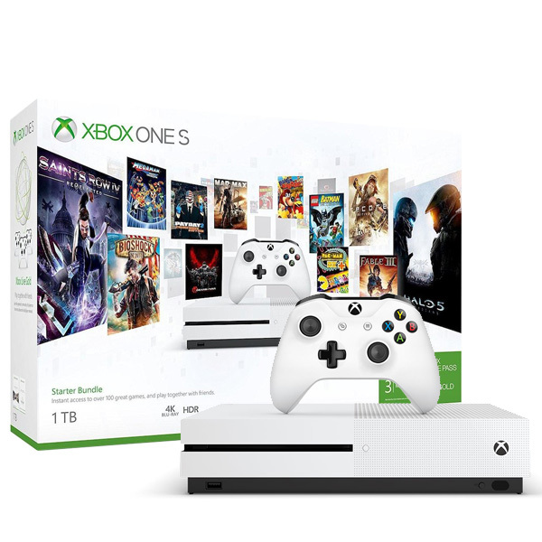 Xbox One S Starter Bundle (1TB) Image