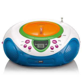 Lenco SCD-40 Kids Radio with CD + USB