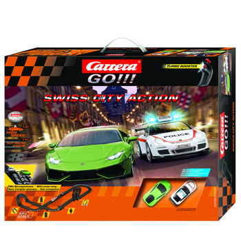 Carrera GO!!! Race Track SWISS CITY ACTION
