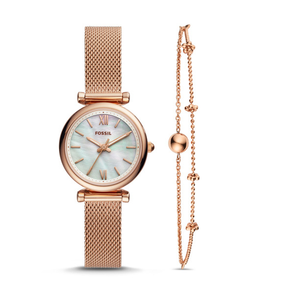 Fossil CARLIE Ladies Watch with Bracelet Image
