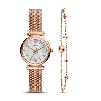 Fossil CARLIE Damenuhr mit Armband