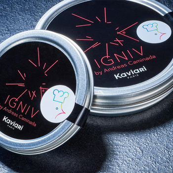 Kaviari KRISTAL Caviar IGNIV by Andreas Caminada