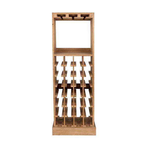 Dutchbone CLAUDE Rack for Wine Bottles and Glasses Image