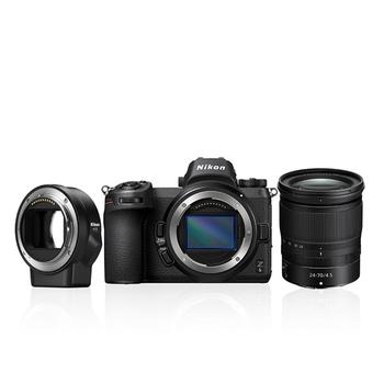Nikon Z6 Kamera 24-70mm + FTZ Objektivadapter