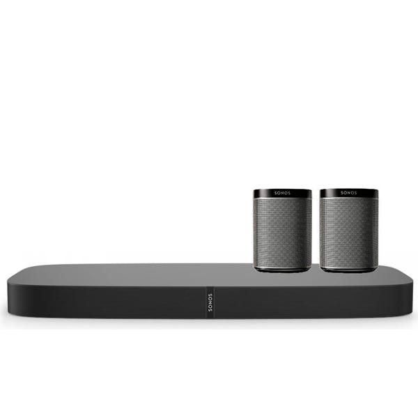 Sonos Bundle: PLAYBASE + PLAY:1 Bild