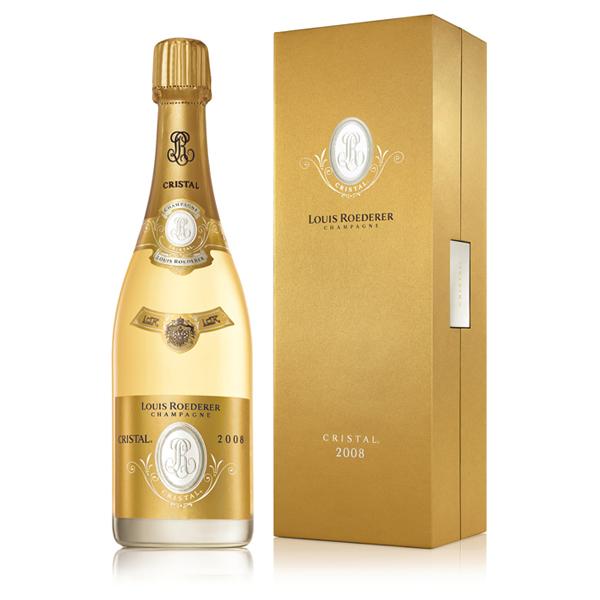 Champagne Louis Roederer Cristal 2008 Bild