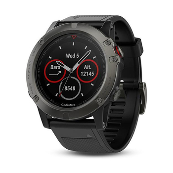 Garmin fēnix® 5X GPS-Multisport-Smartwatch − Saphir Edition