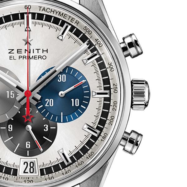 Zenith EL PRIMERO Herren-Chronograph − SchwarzBild