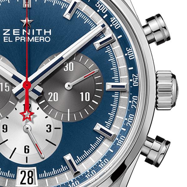 Zenith EL PRIMERO Herren-Chronograph − BlauBild