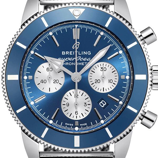 Breitling SUPEROCEAN Heritage B01 Herren-Chronograph - BlauBild