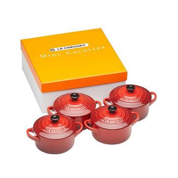 Le Creuset Mini-Cocotte 4er-Set