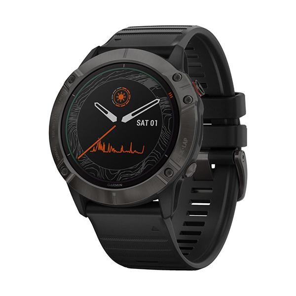 Garmin fēnix® 6X Pro Solar GPS TrainingsuhrBild