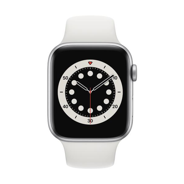 Apple Watch Series 6 GPS Aluminium – 44mm, SportarmbandBild