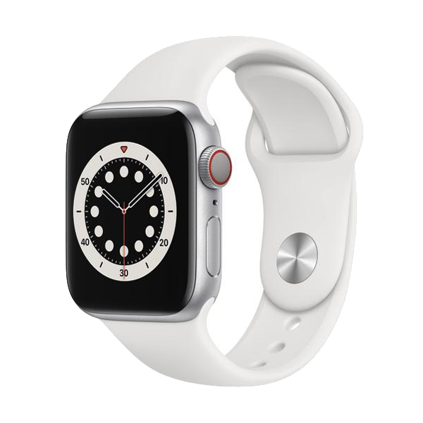 Apple Watch Series 6 GPS+Cellular Aluminium – 40mm, SportarmbandBild