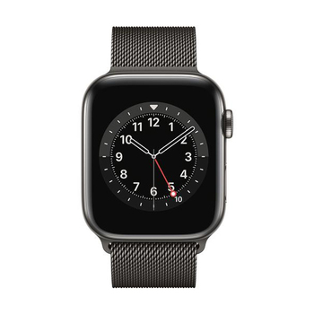 Apple Watch Series 6 GPS+Cellular Edelstahl – 44mm, Milanaise