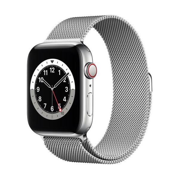 Apple Watch Series 6 GPS+Cellular Edelstahl – 44mm, MilanaiseBild