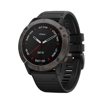 Garmin GPS Multisport-Smartwatch fēnix® 6X Sapphire − 51mm