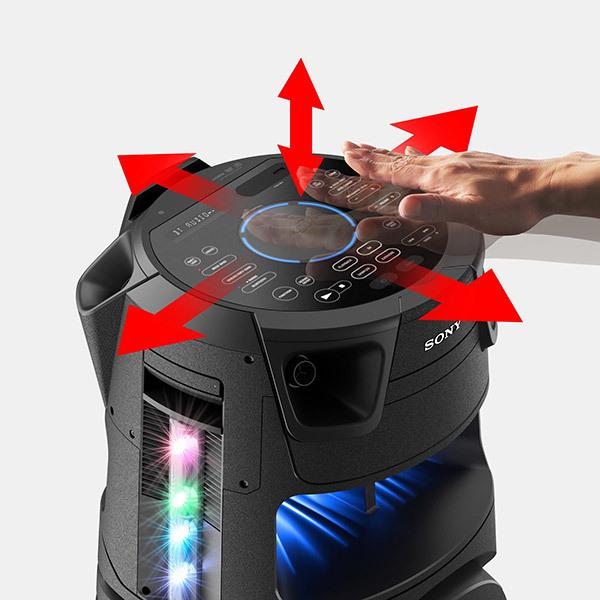 Sony MHC-V73D Bluetooth® AudiosystemBild